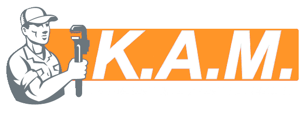 K.A.M Heating Business Logo for Footer